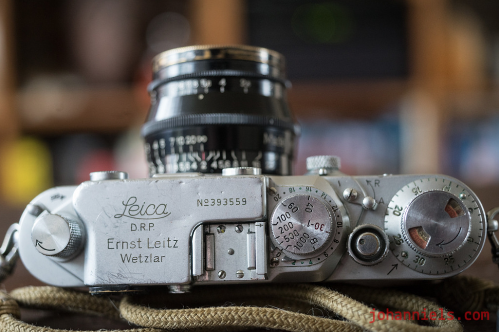 Leica IIIc 'Stepper', late 1945.